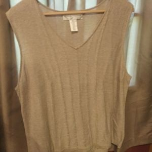 Evan Picone lightweight sweater vest